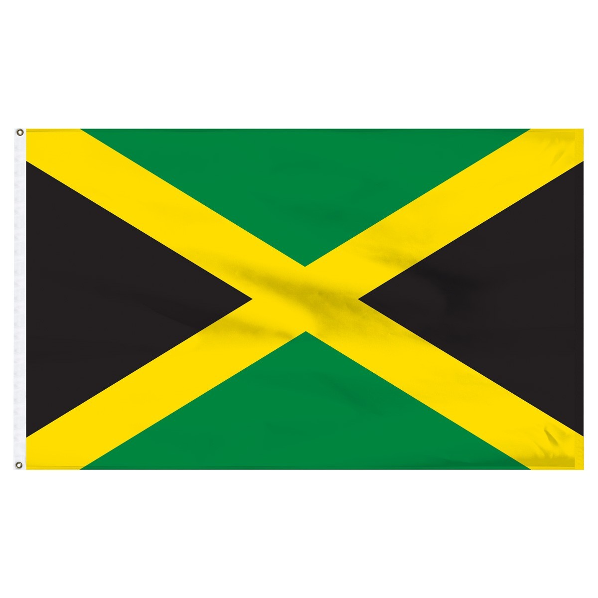 Jamaica 3' x 5' Outdoor Nylon Flag