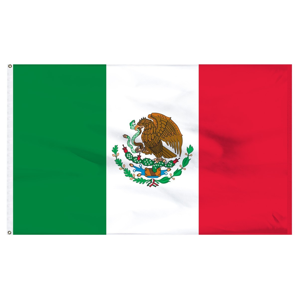 Mexico 3' x 5' Outdoor Nylon Flag
