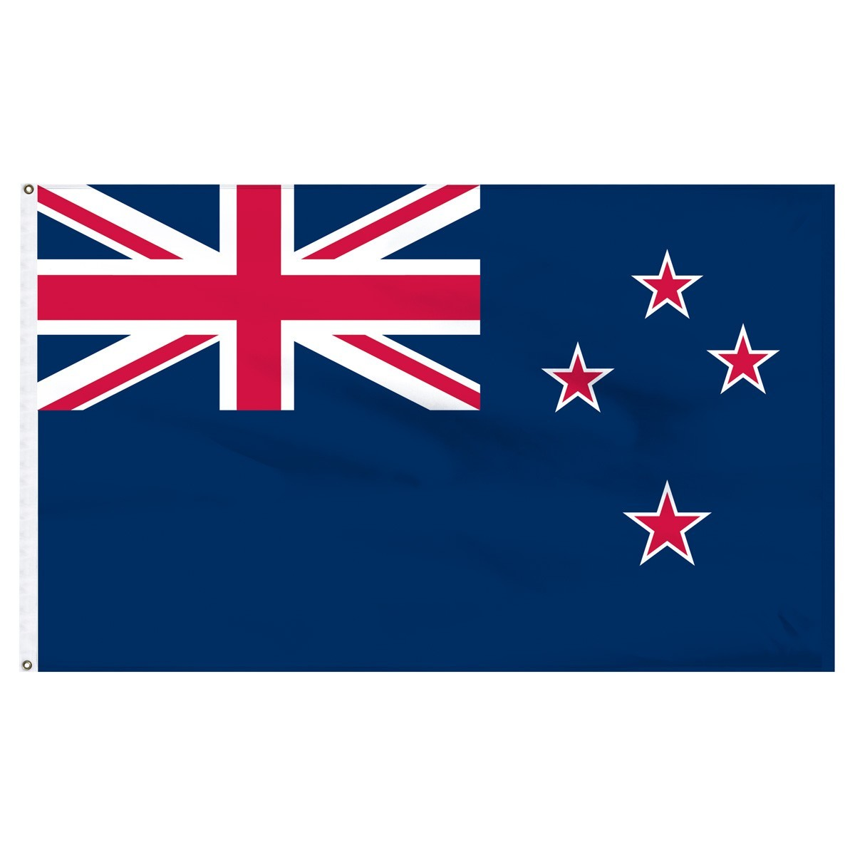 New Zealand 3' x 5' Outdoor Nylon Flag