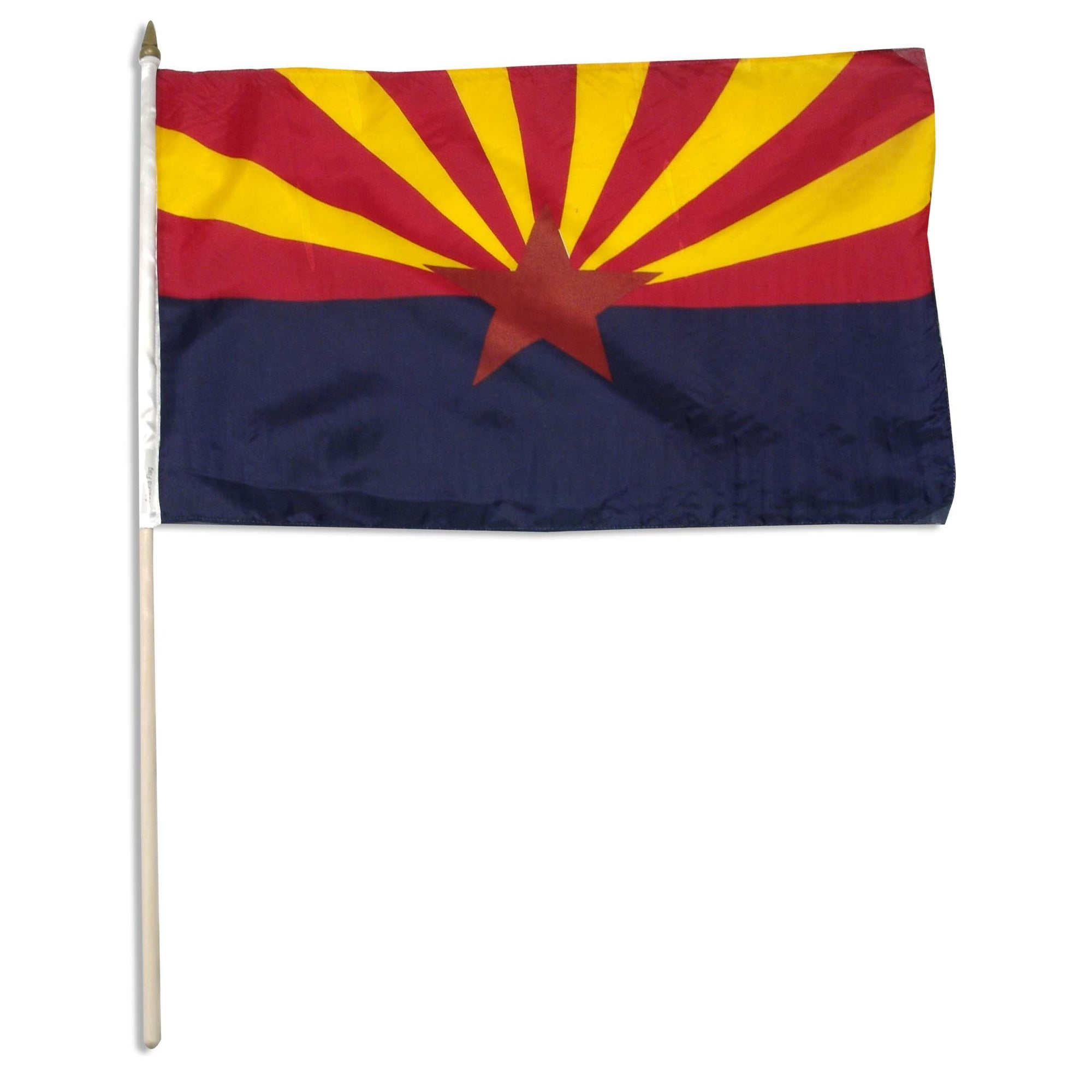 "Arizona  12"" x 18"" Mounted Flag"