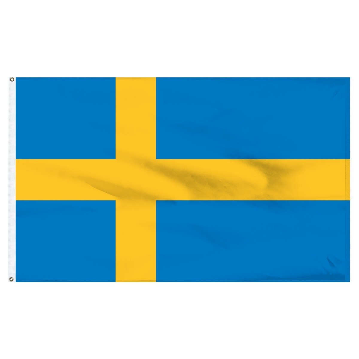 Sweden 3' x 5' Outdoor Nylon Flag