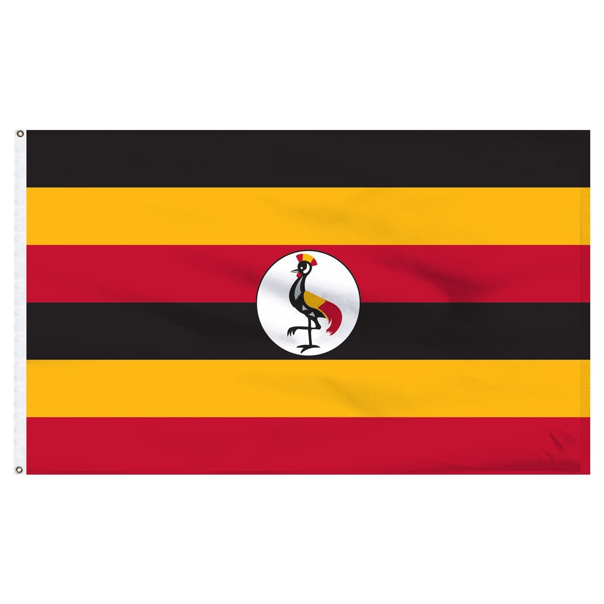 Uganda 3' x 5' Outdoor Nylon Flag
