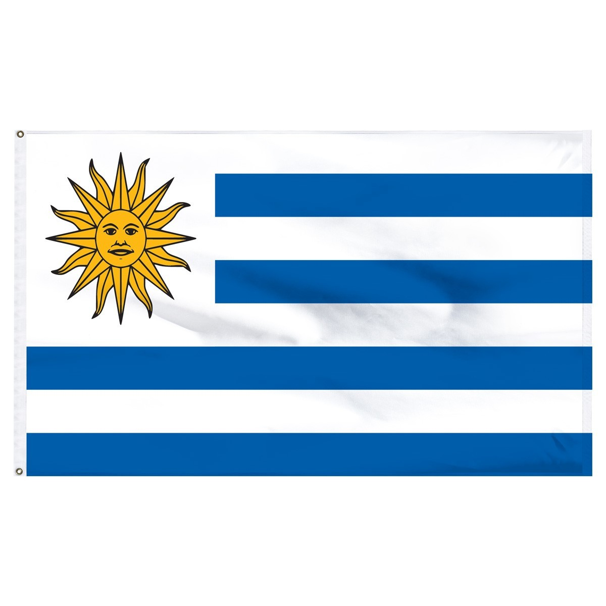 Uruguay 3' x 5' Outdoor Nylon Flag