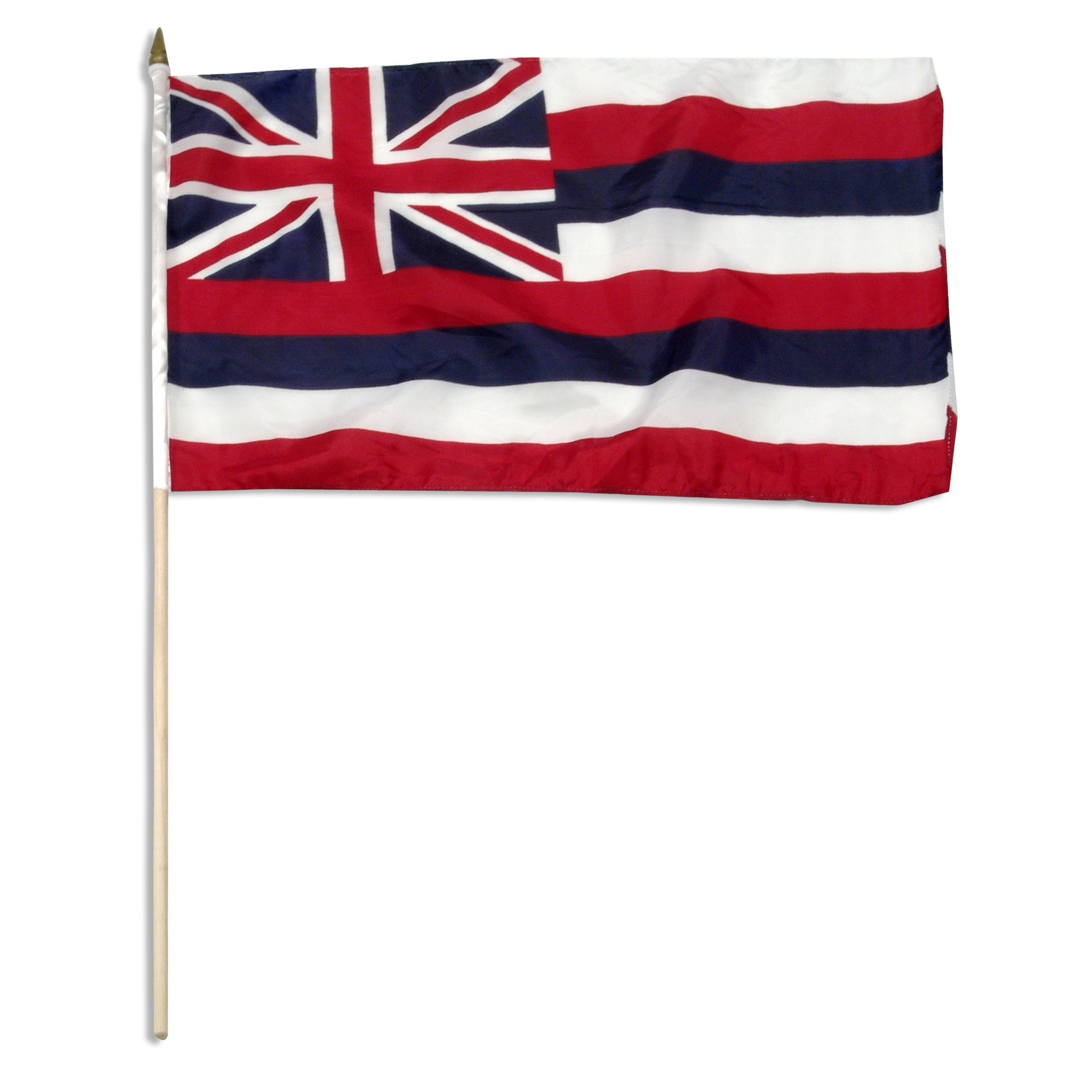 "Hawaii  12"" x 18"" Mounted Flag"