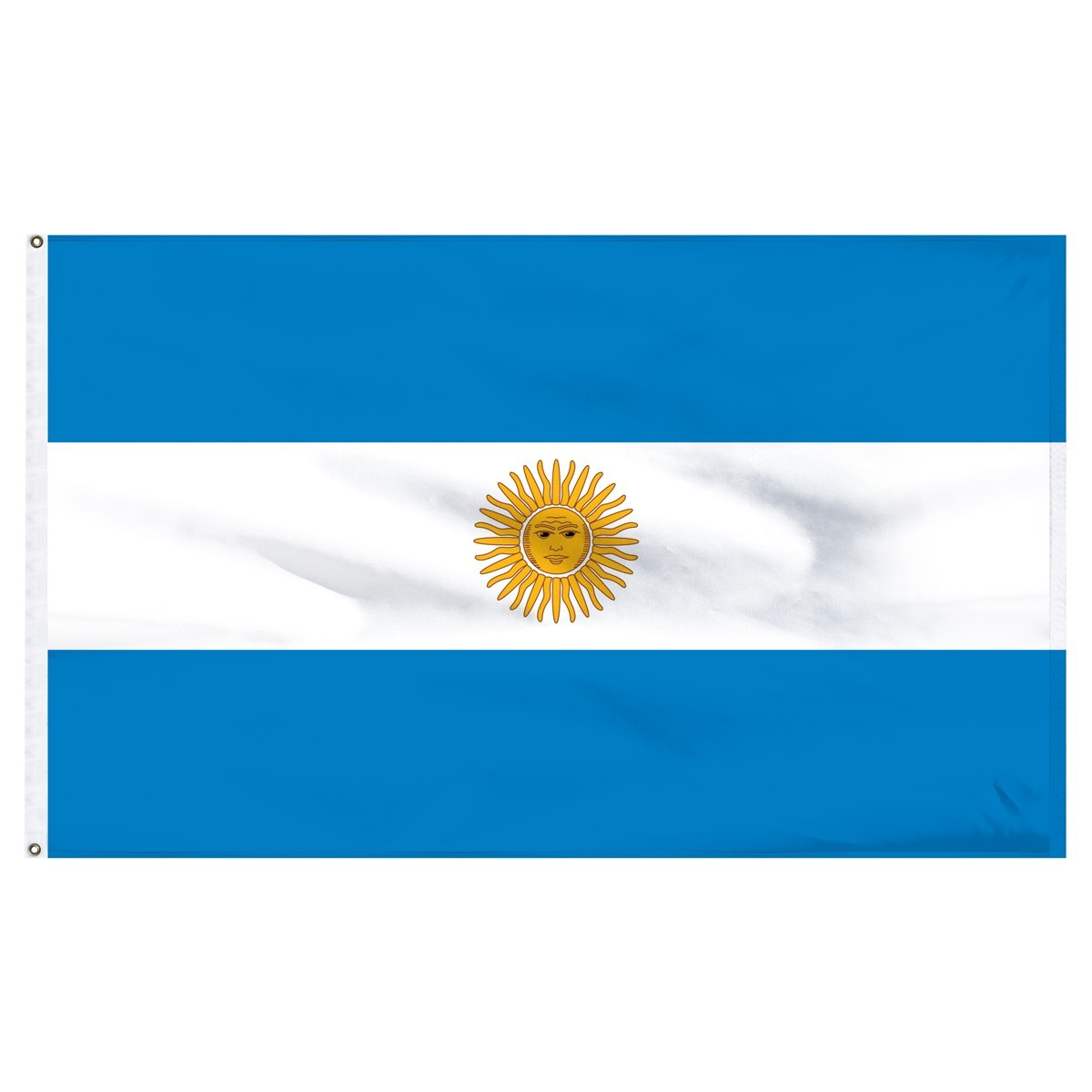 Argentina 4' x 6' Outdoor Nylon Country Flag