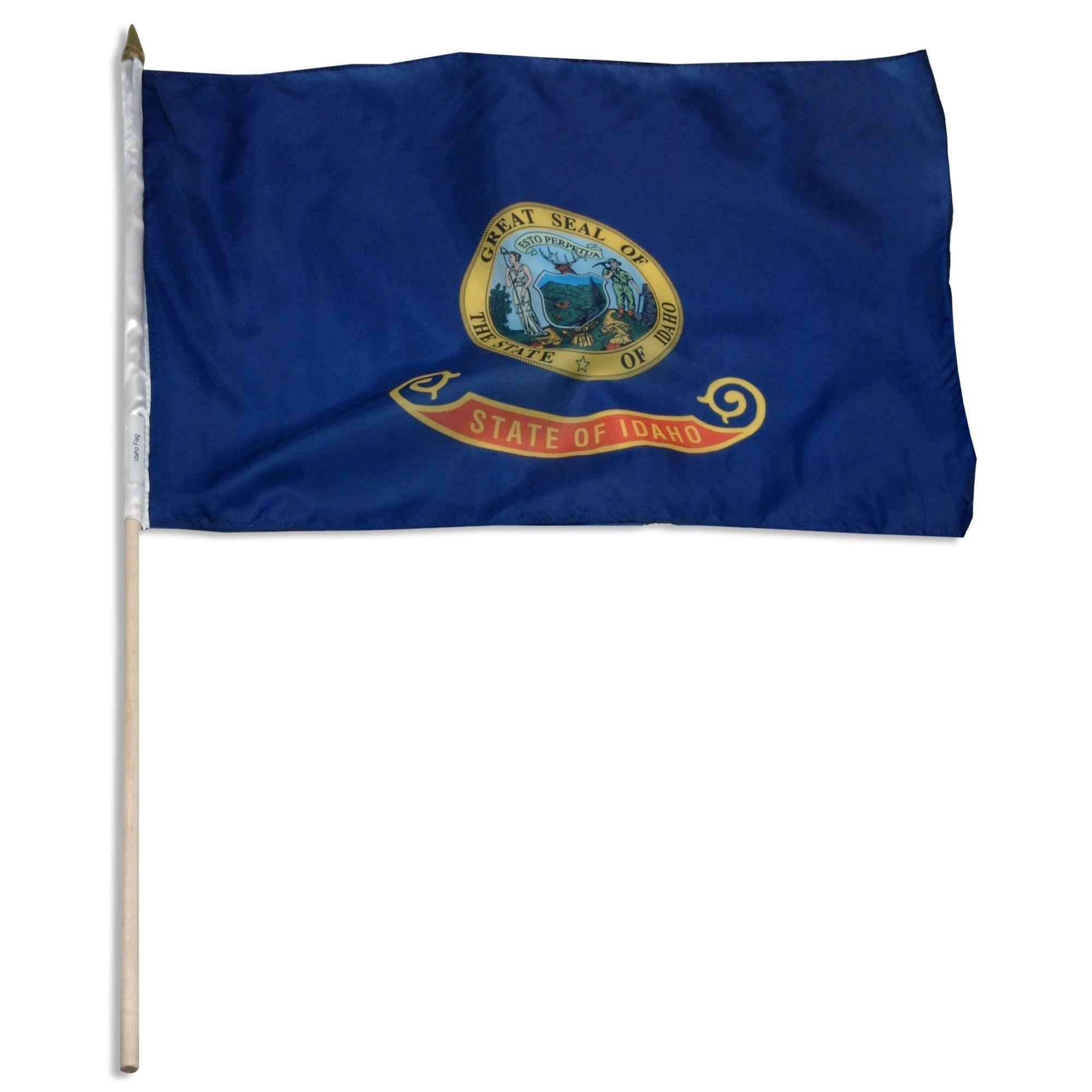 "Idaho  12"" x 18"" Mounted Flag"