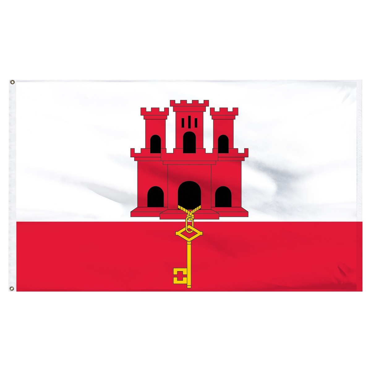 Gibraltar Flag For Sale 1-800 Flags