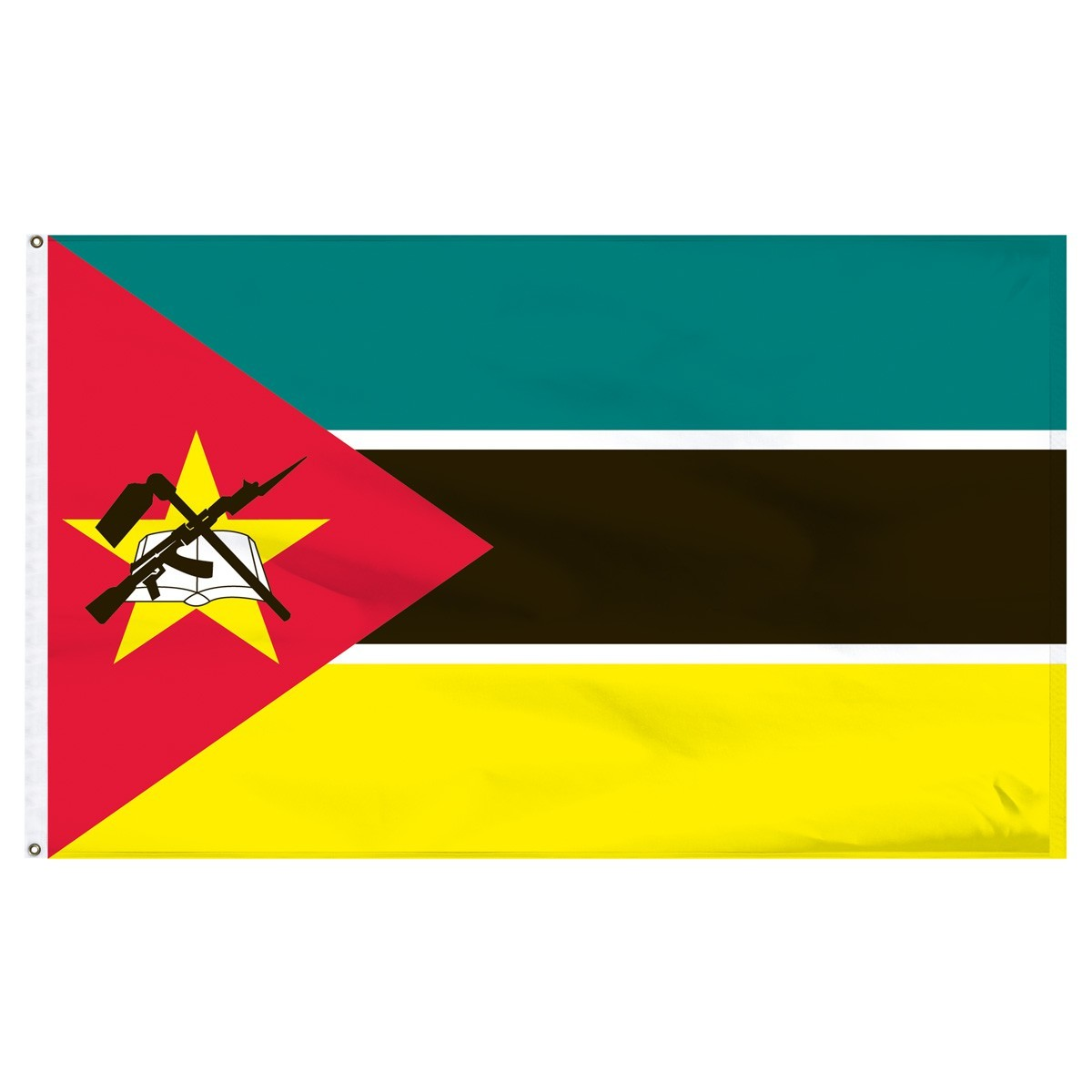 Mozambique 4' x 6' Outdoor Nylon Flag