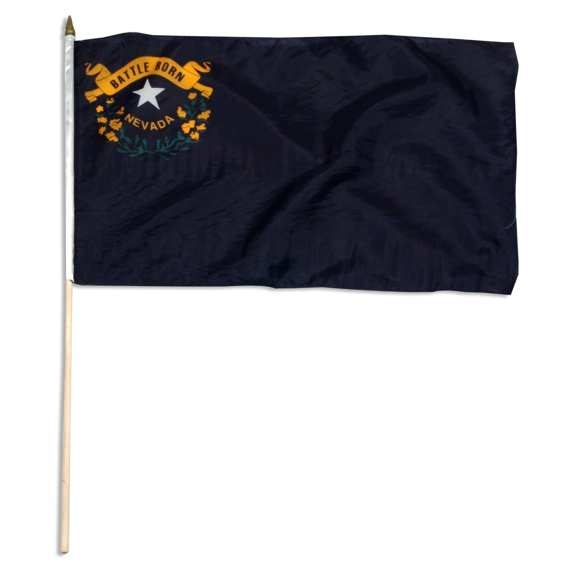 "Nevada  12"" x 18"" Mounted Flag"