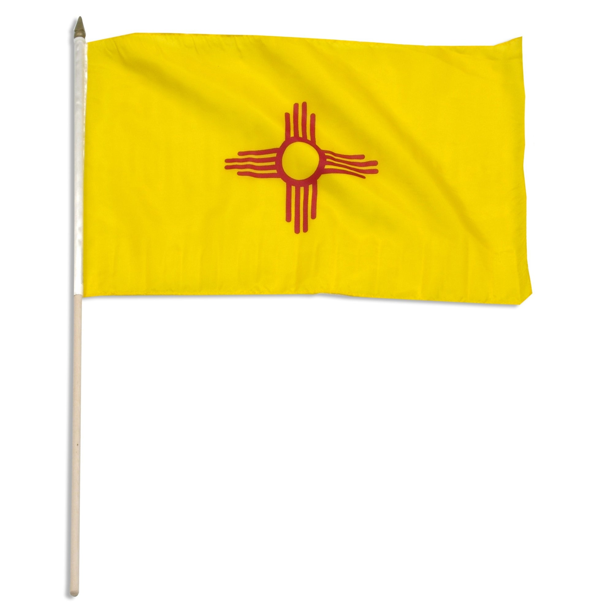 "New Mexico  12"" x 18"" Mounted Flag"
