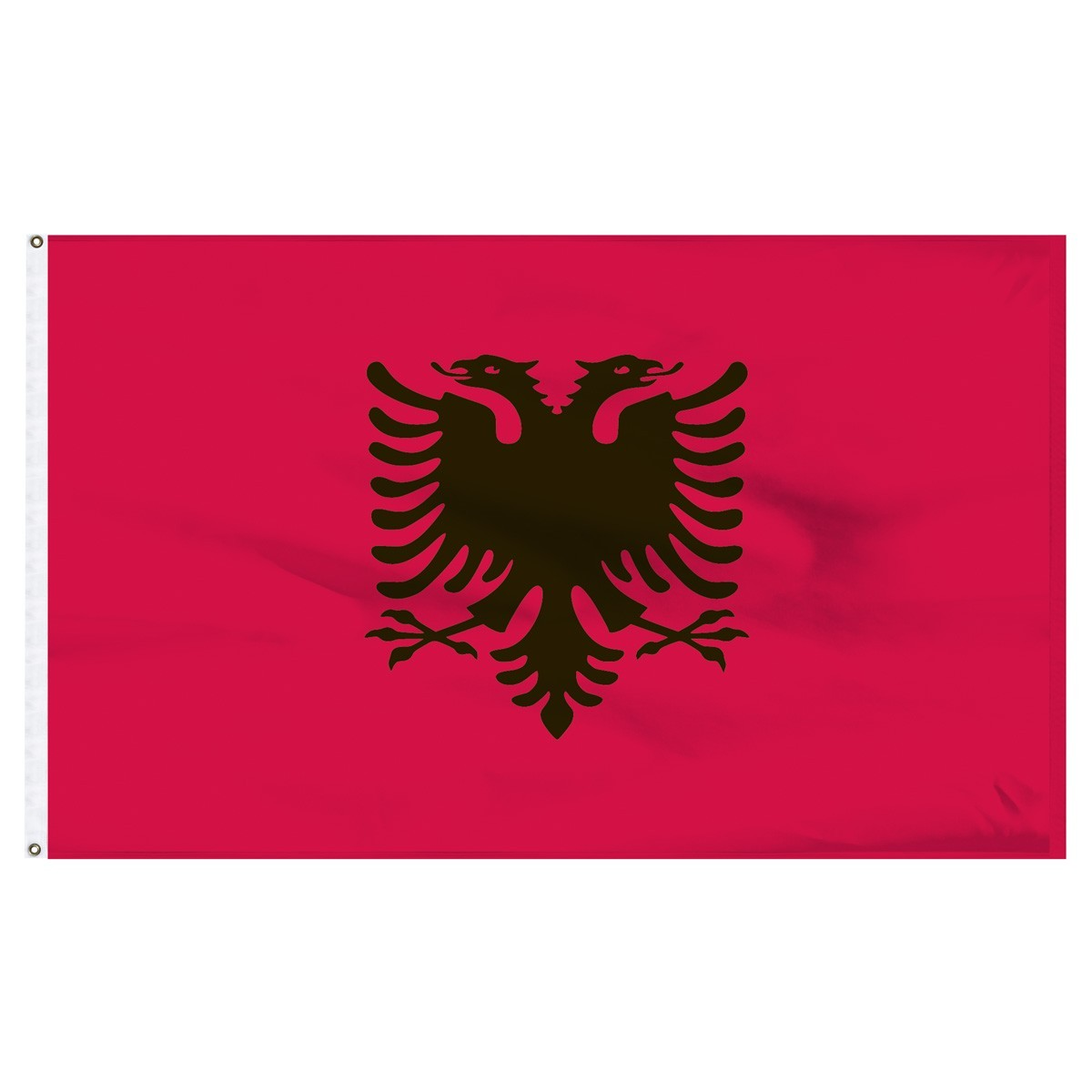 Albania 5' x 8' Outdoor Nylon Country Flag