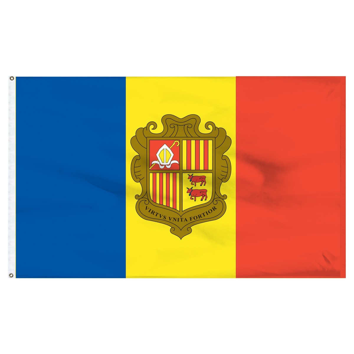 Andorra 5' x 8' Outdoor Nylon Country Flag