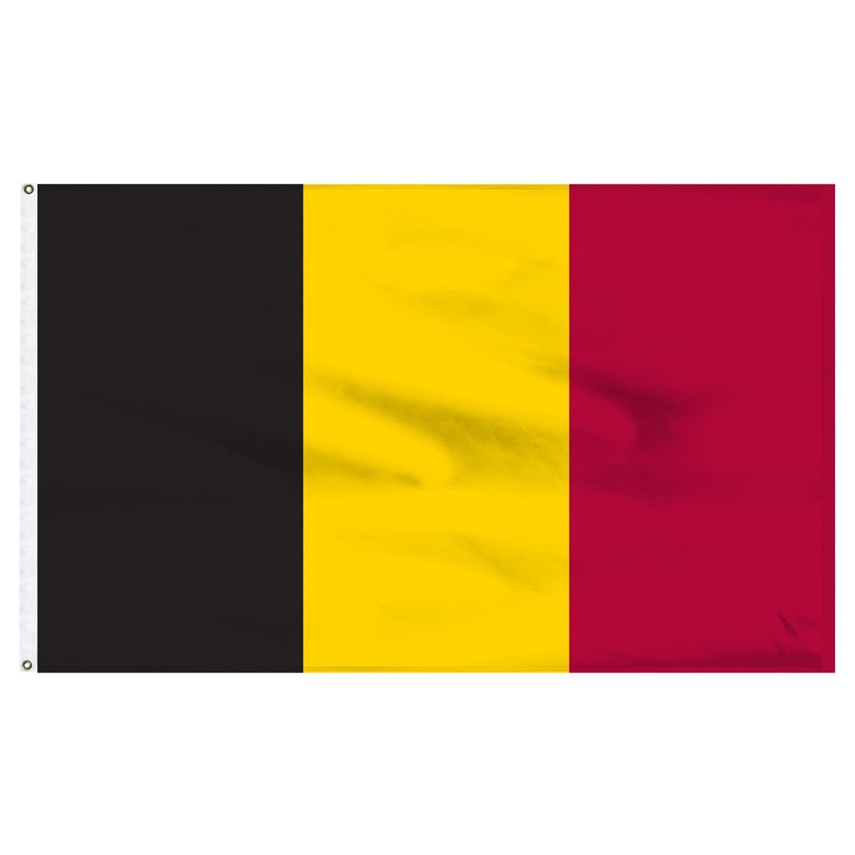 Belgium 5' x 8' Outdoor Nylon Country Flag