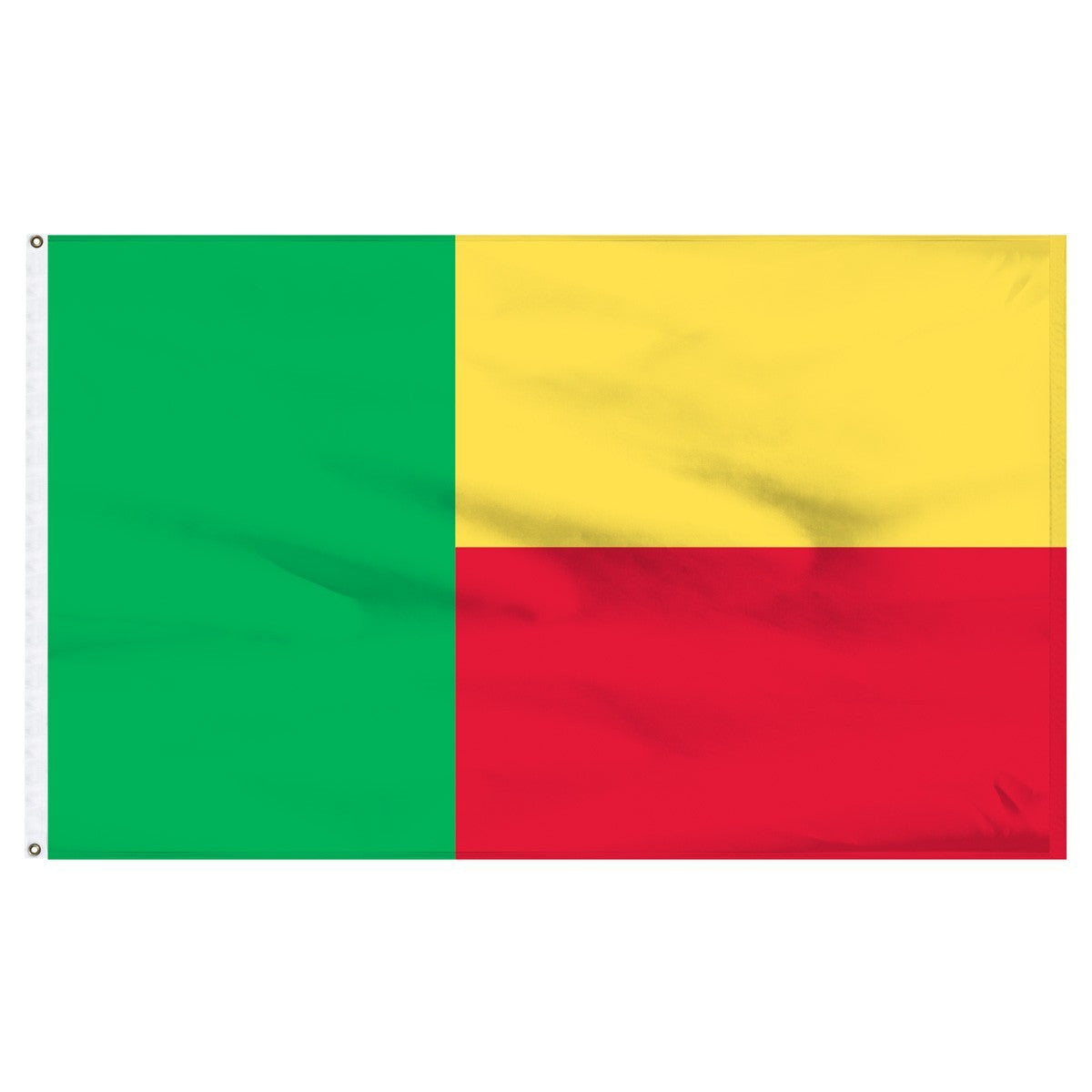 Benin 5' x 8' Outdoor Nylon Country Flag