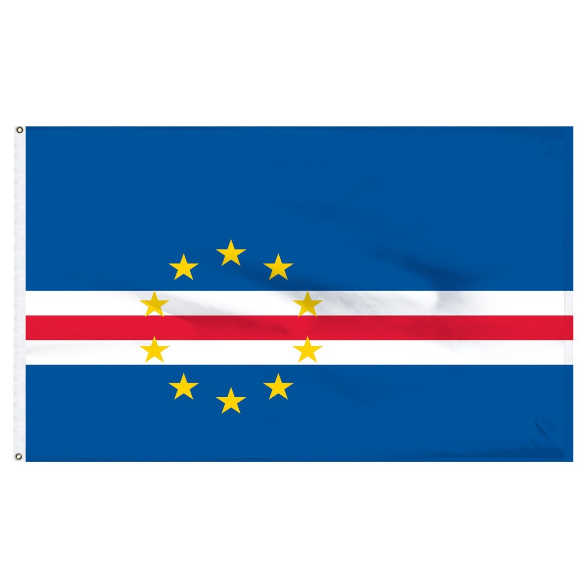 Cape Verde 5' x 8' Outdoor Nylon Flag