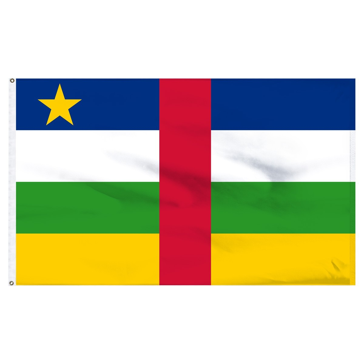 Central African Rep 5' x 8' Outdoor Nylon Flag