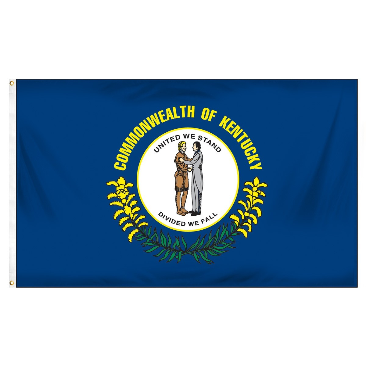 Kentucky  2' x 3' Indoor Polyester Flag