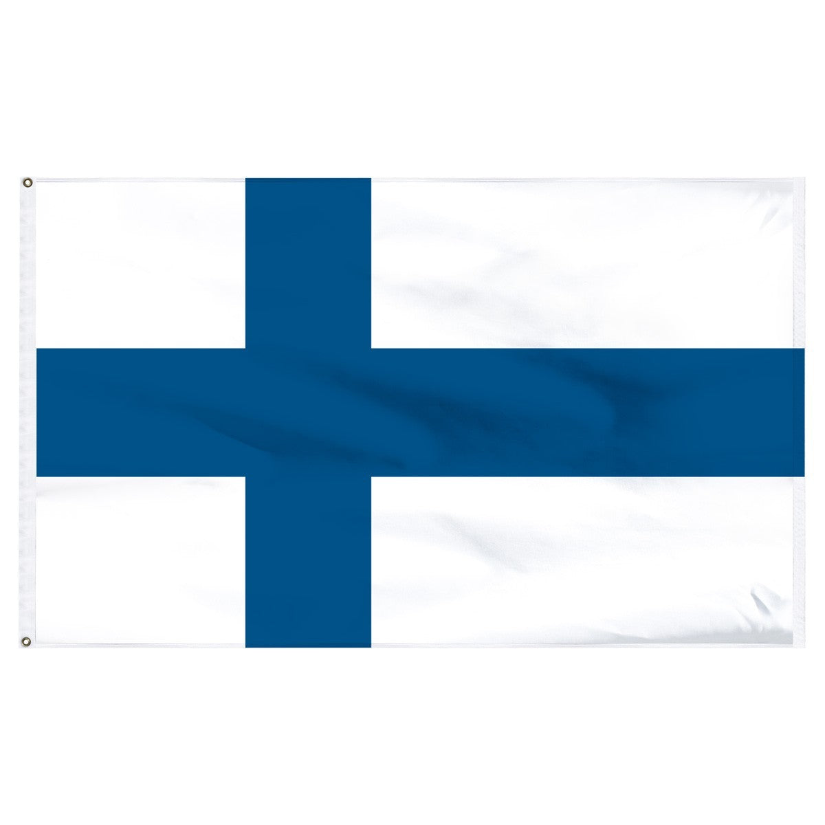 Finland 5' x 8' Outdoor Nylon Flag