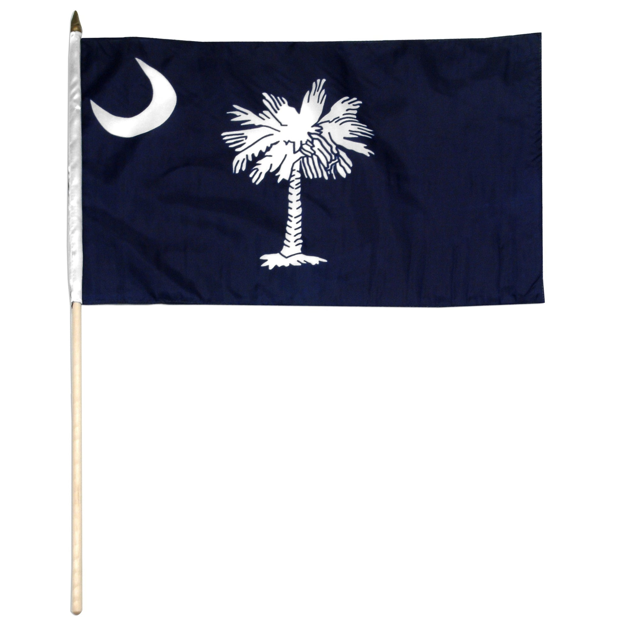 "South Carolina  12"" x 18"" Mounted Flag"