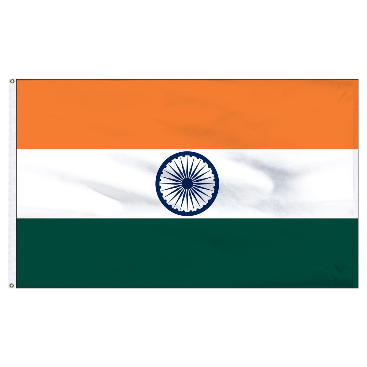 India 5' x 8' Outdoor Nylon Flag