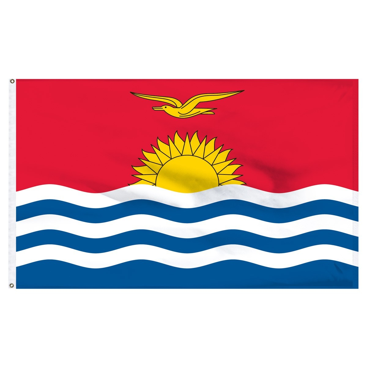 Kiribati 5' x 8' Outdoor Nylon Flag