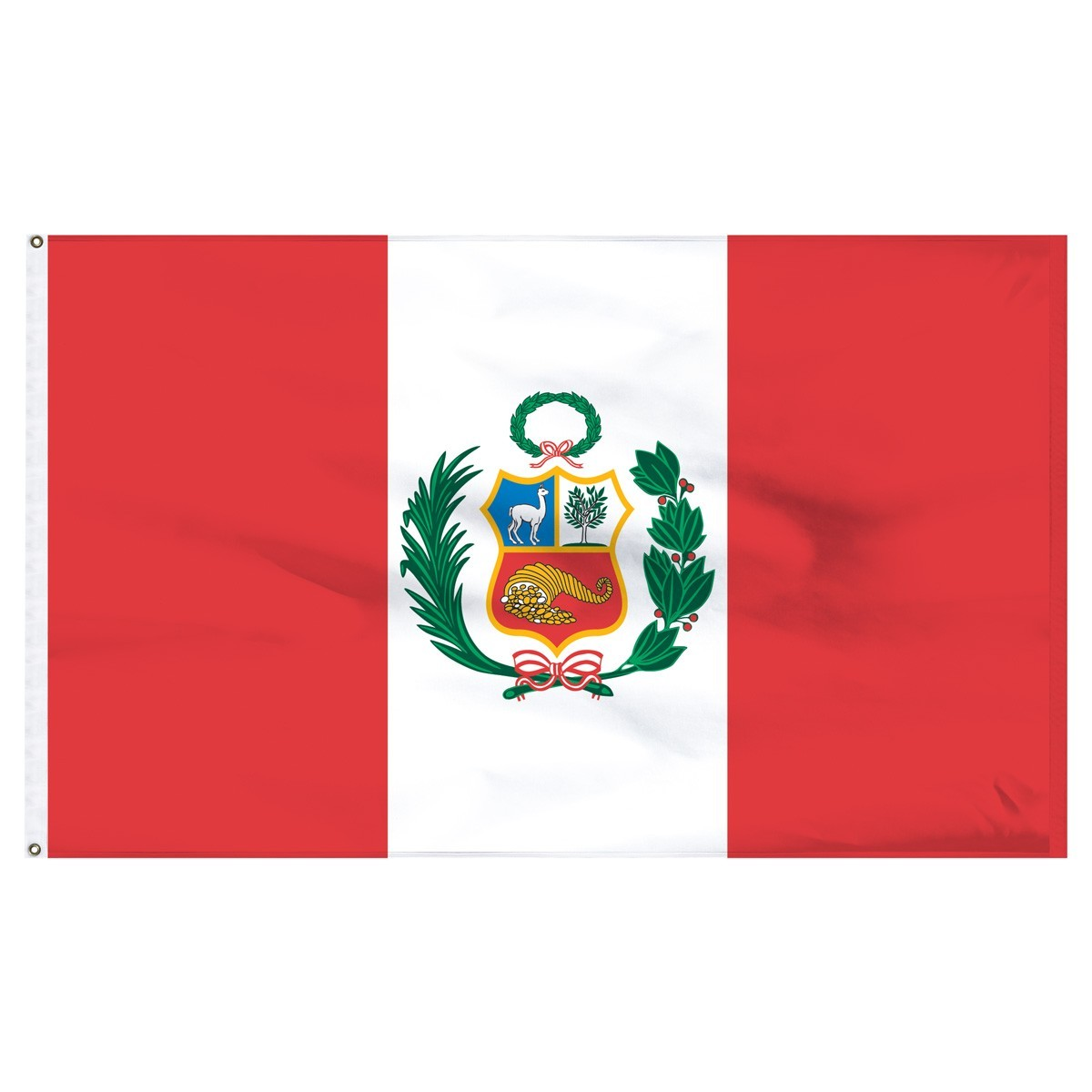 Peru 5' x 8' Outdoor Nylon Flag