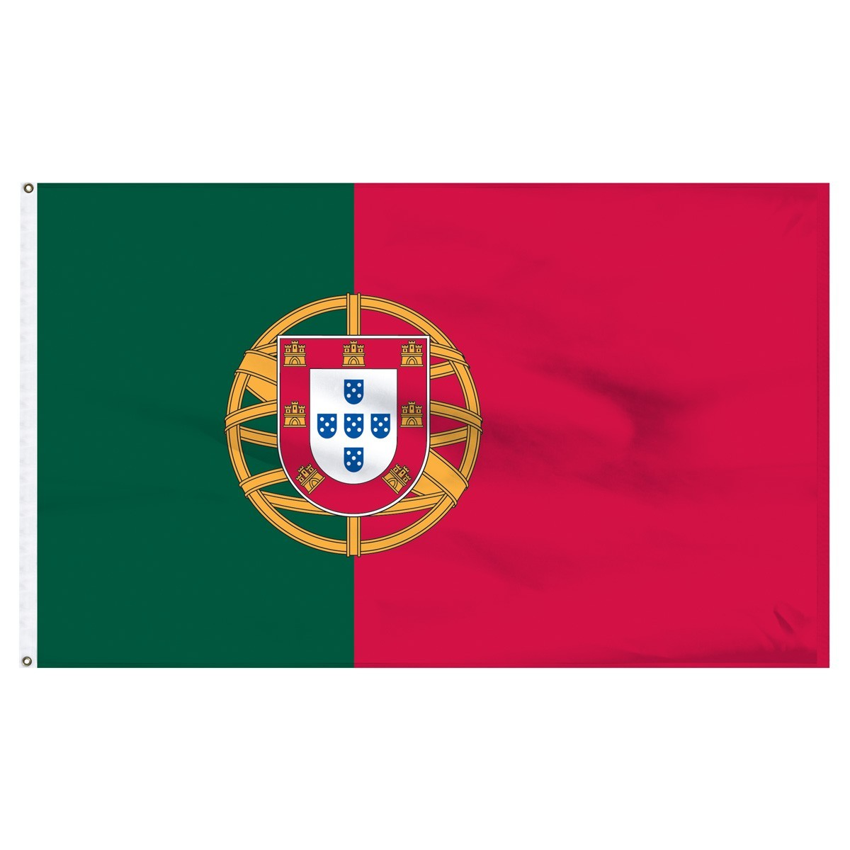 Portugal 5' x 8' Outdoor Nylon Flag