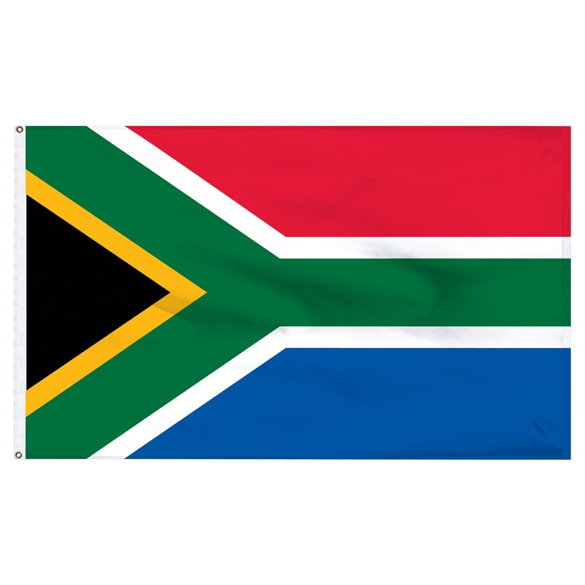 South Africa 5' x 8' Outdoor Nylon Flag