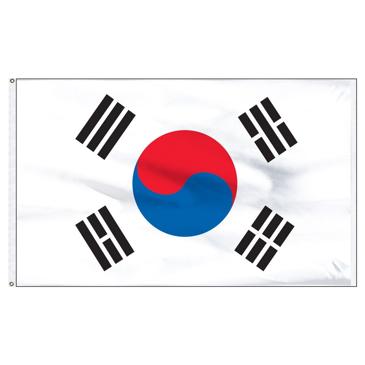 South Korea 5' x 8' Outdoor Nylon Flag