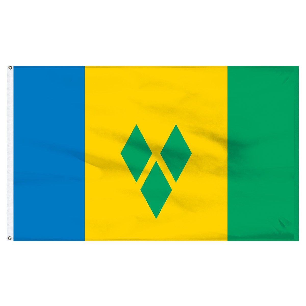 Saint Vincent & Grenadines 5' x 8' Outdoor Nylon Flag