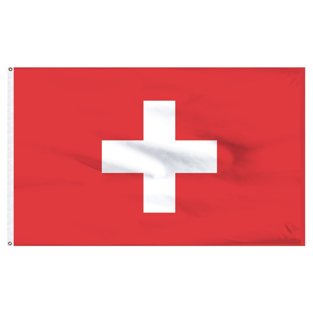 Switzerland 5' x 8' Outdoor Nylon Flag