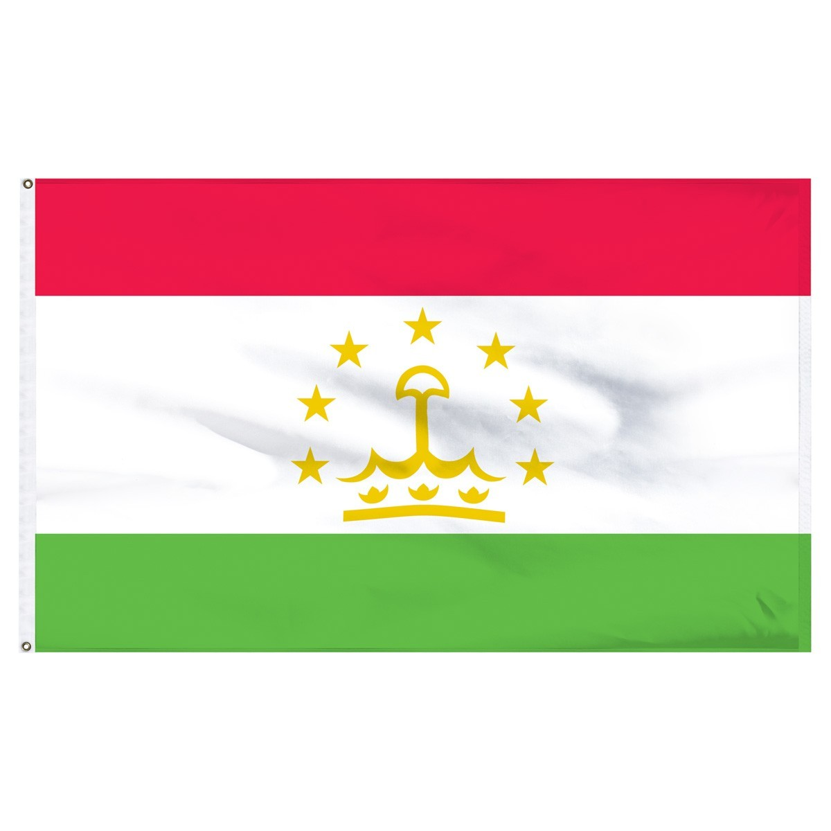 Tajikistan 5' x 8' Outdoor Nylon Flag