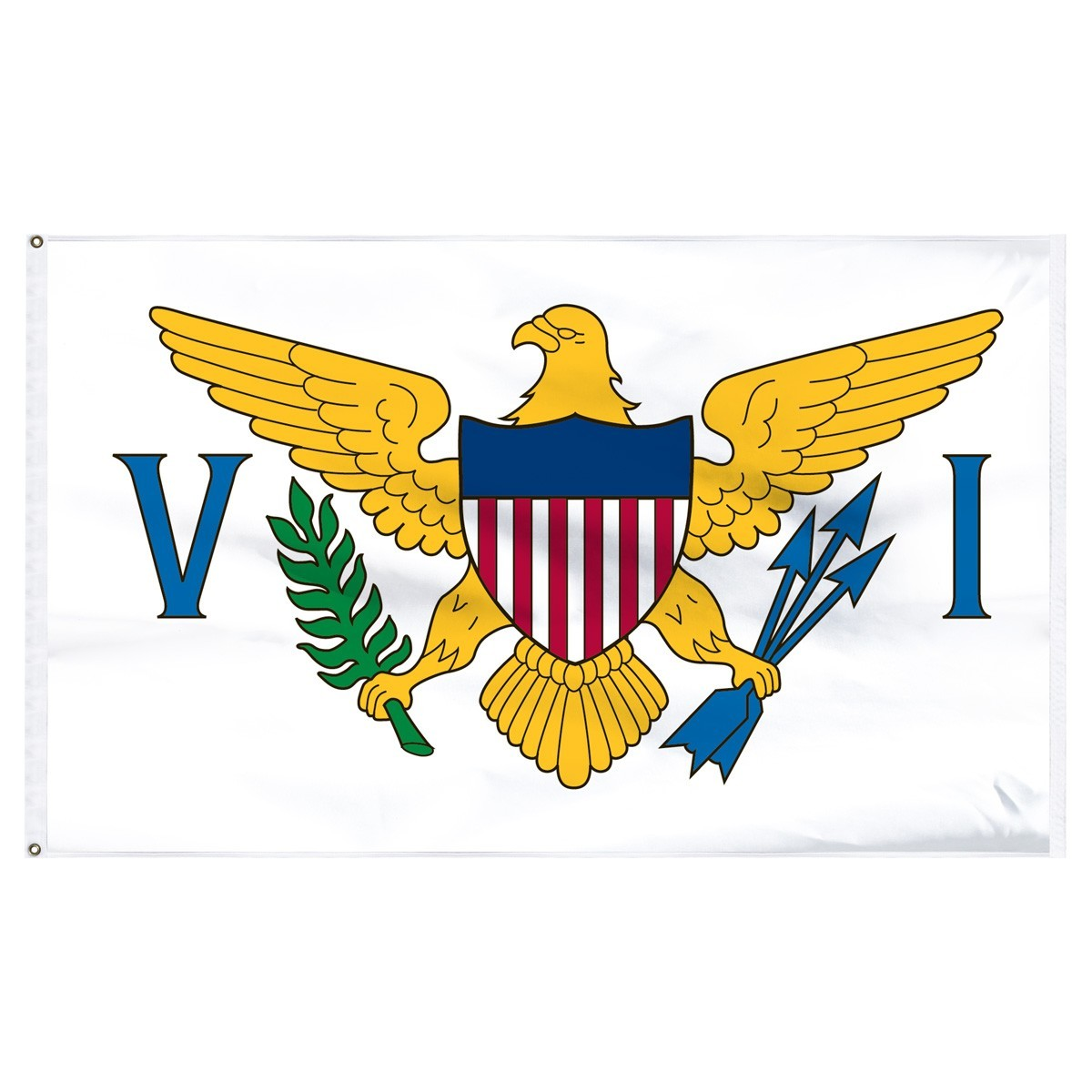 US Virgin Islands - U.S. 5' x 8' Outdoor Nylon Flag