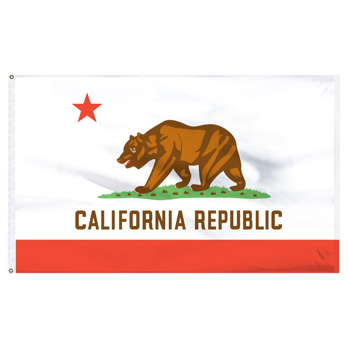 California  2' x 3' Outdoor Nylon Flag