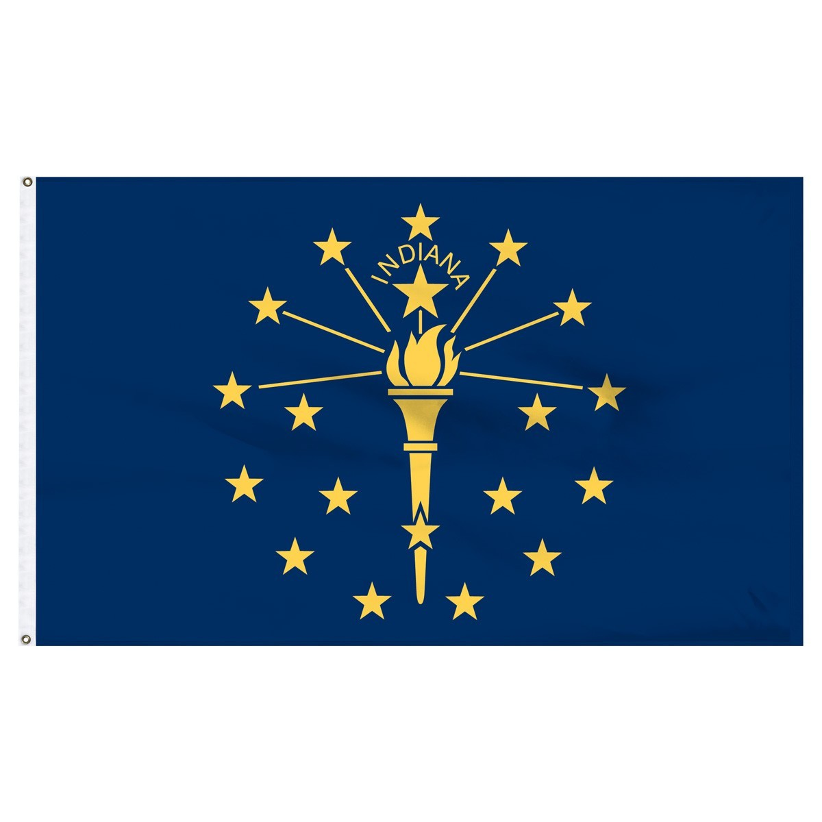 Indiana Flags For Sale by 1-800 Flags