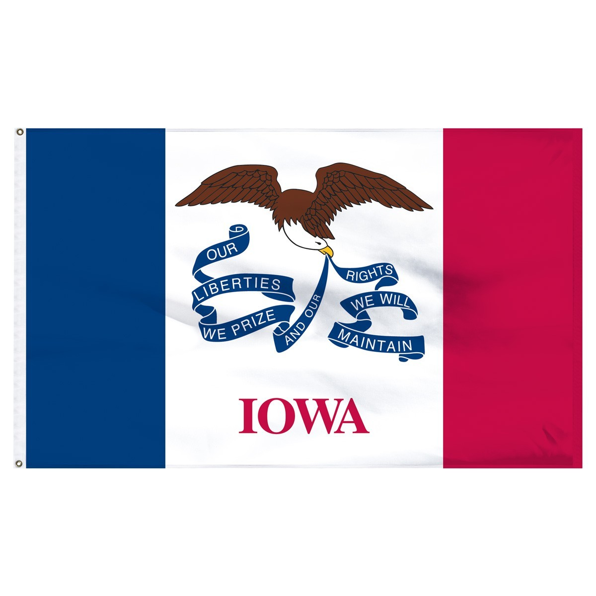 Iowa State Flags For Sale by 1-800 Flags