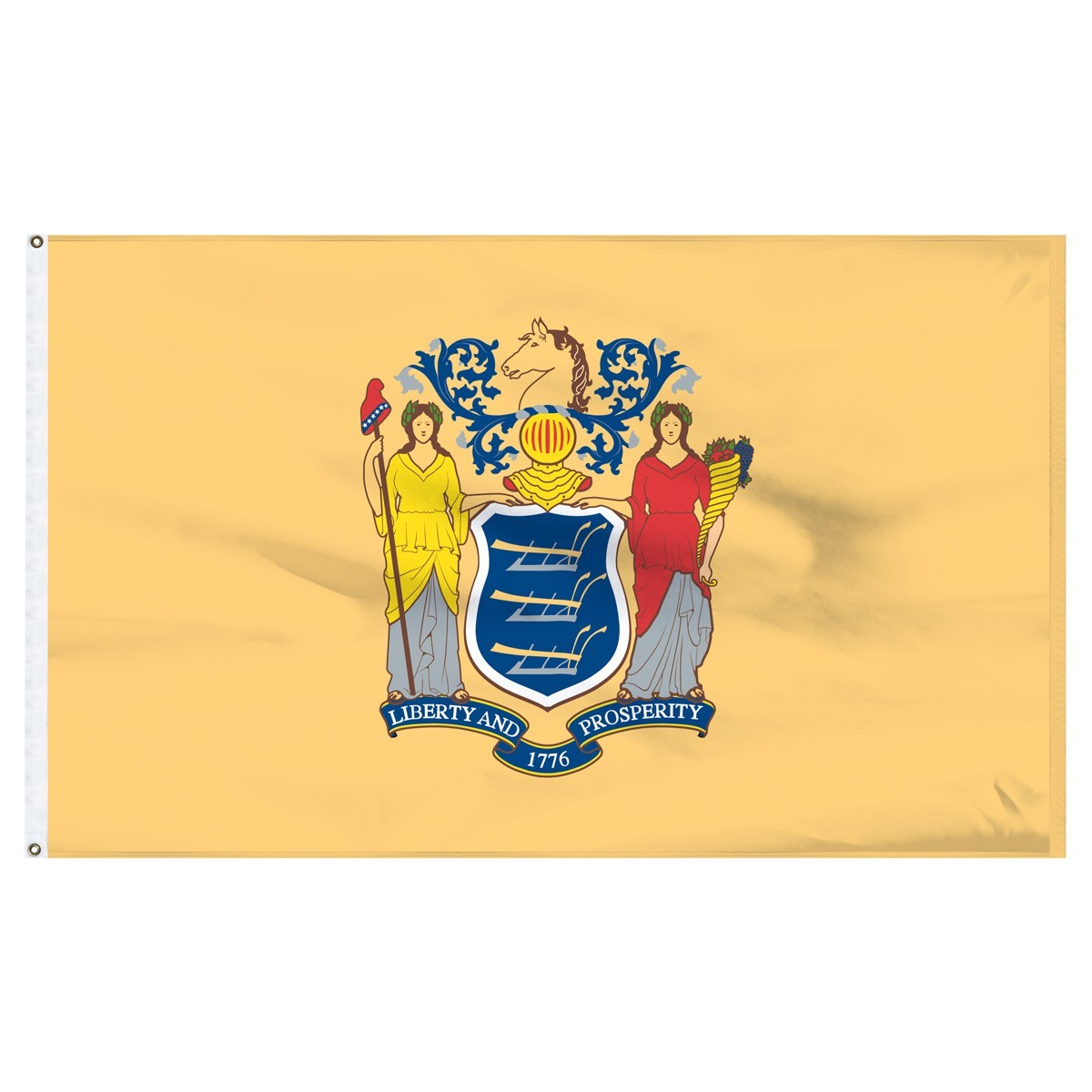 New Jersey  2' x 3' Outdoor Nylon Flag