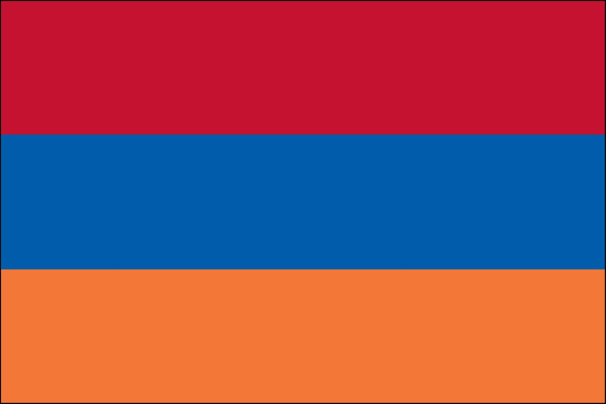 Armenia 2' x 3' Indoor Polyester Country Flag