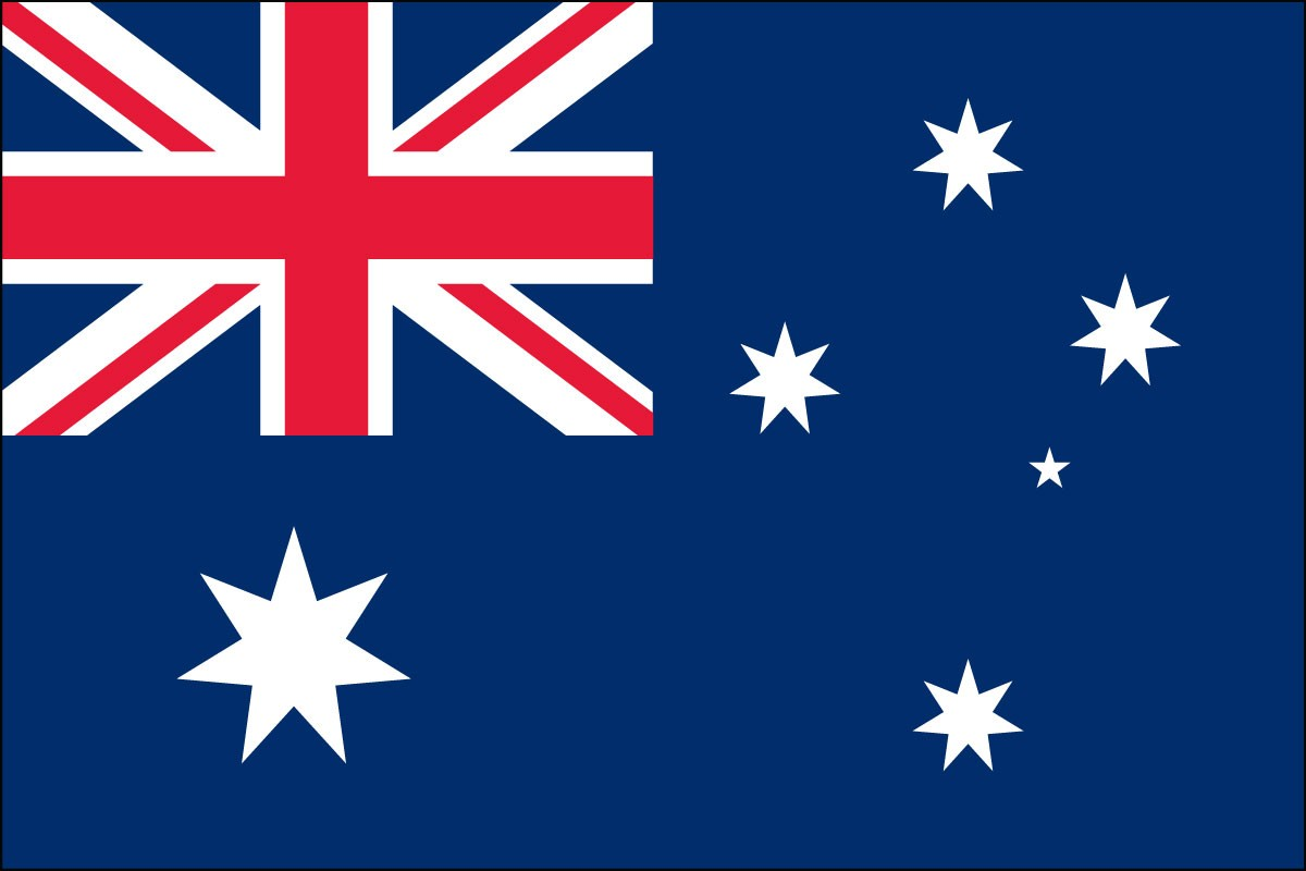 Australia 2' x 3' Indoor Polyester Country Flag