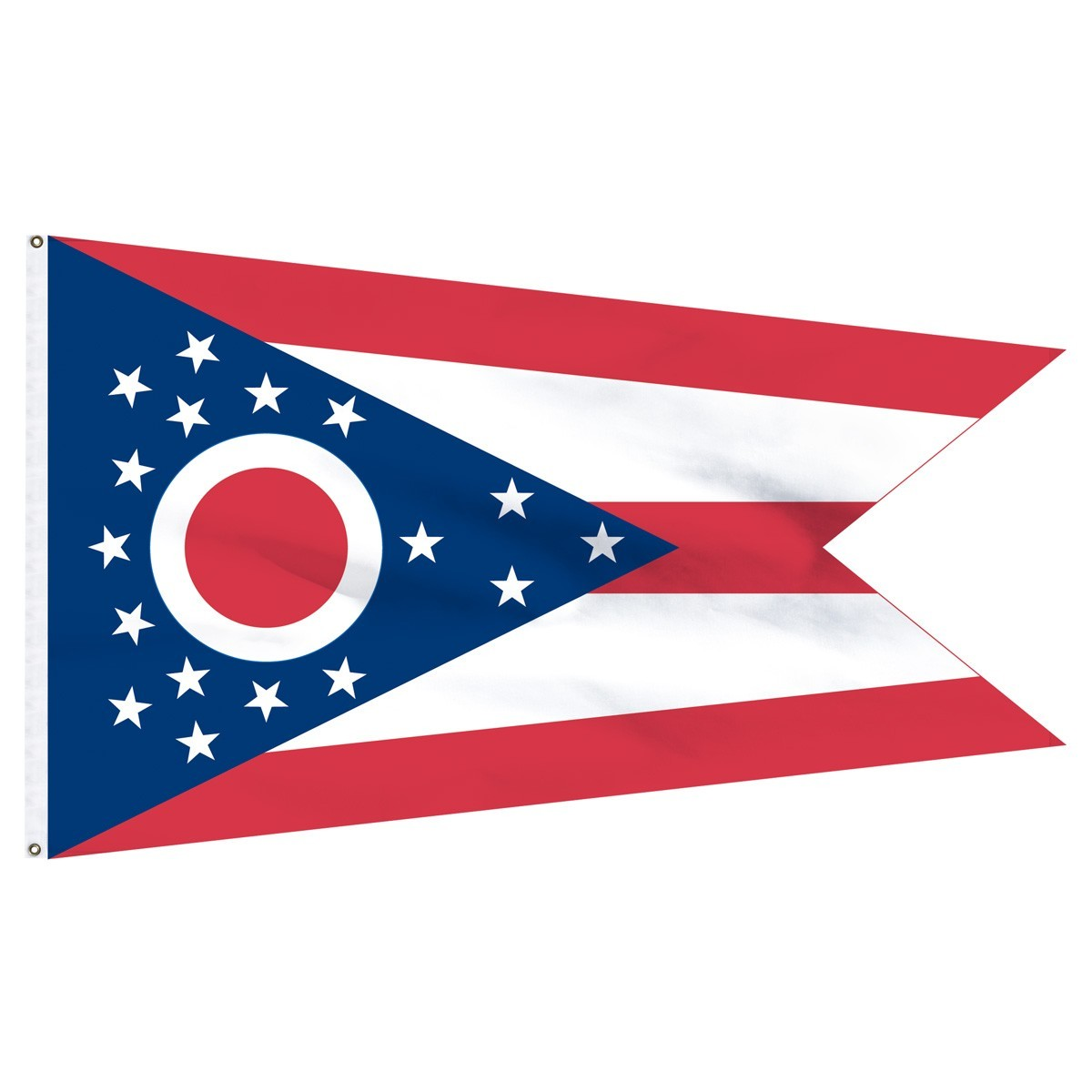 Ohio polyester nylon classroom flags for sale