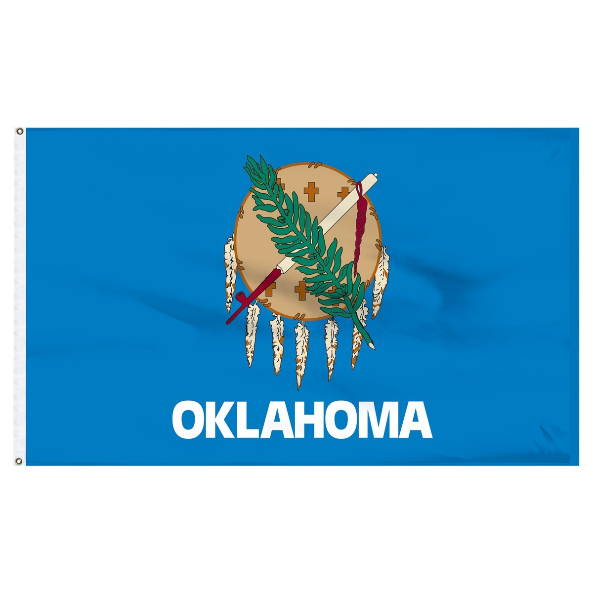 Oklahoma  3' x 5' Outdoor Nylon Flag