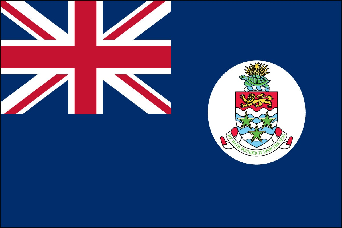 Cayman Islands 2' x 3' Indoor Polyester Flag