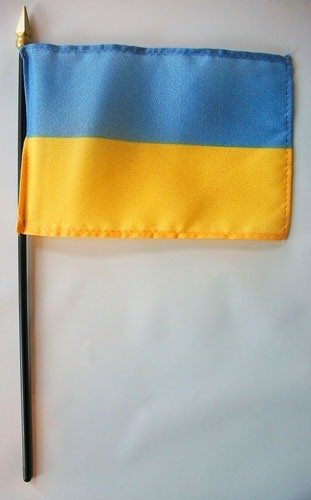 Ukraine flags for sale polyester and nylon