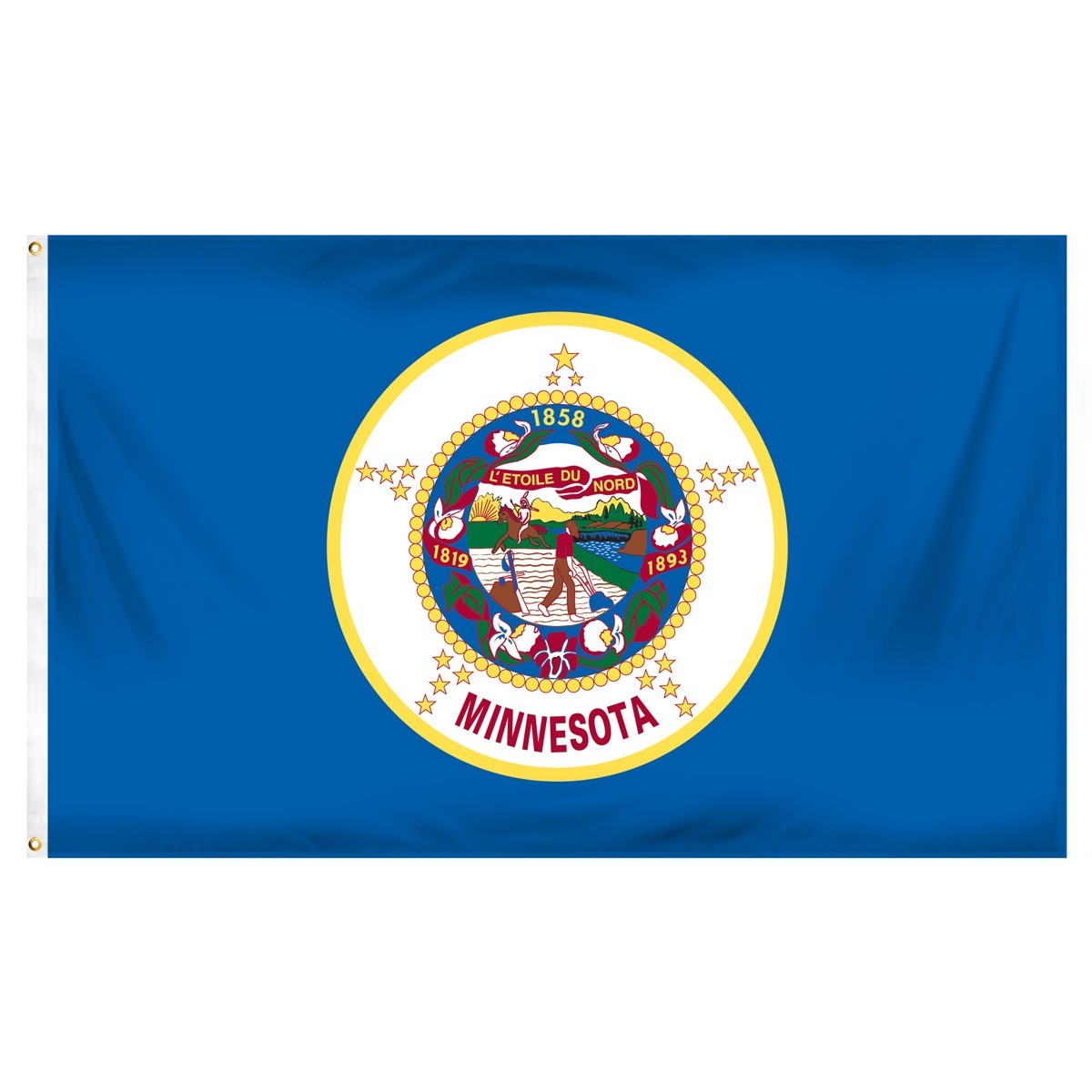 Minnesota  2' x 3' Indoor Polyester Flag