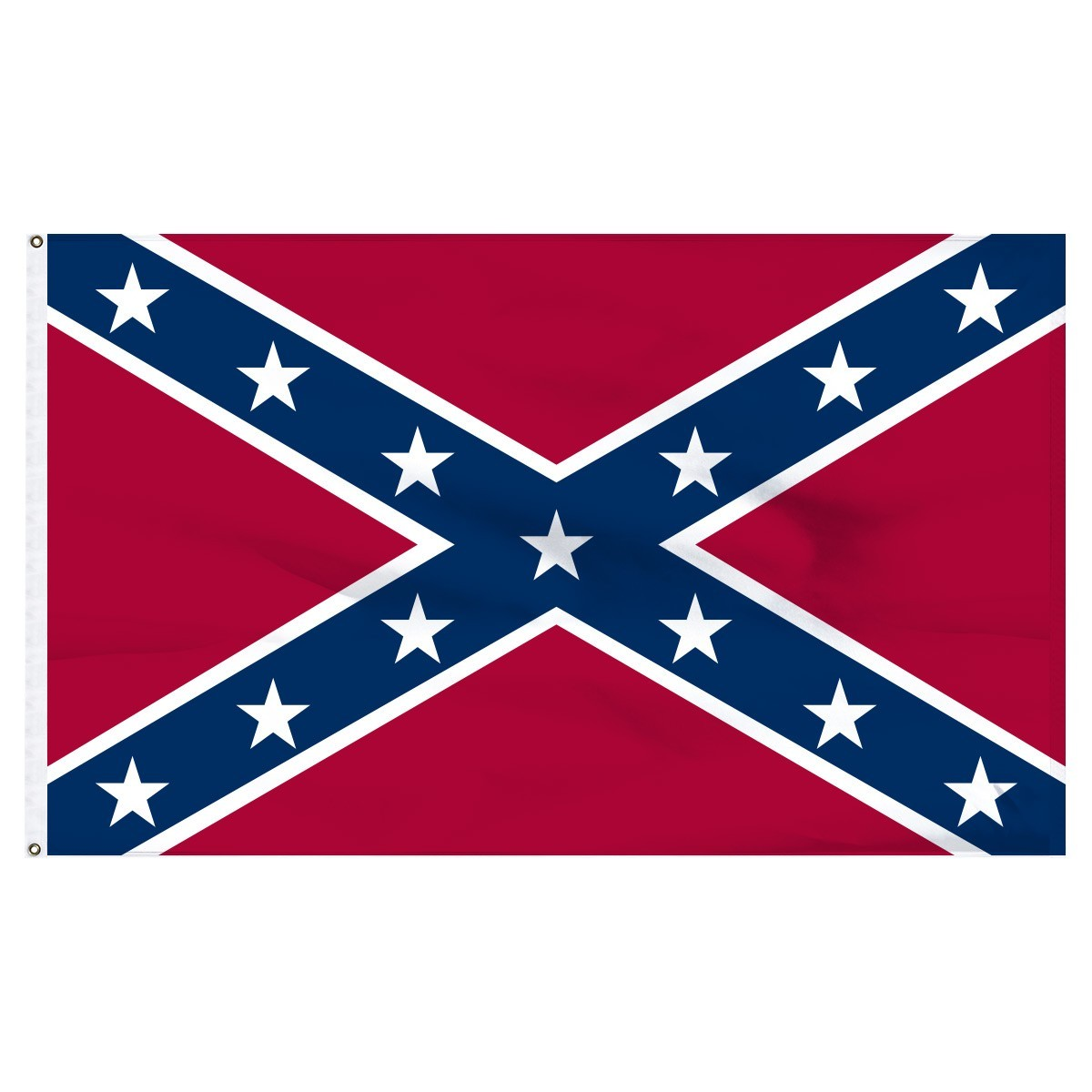 Rebel Flag - Confederate Flag  3' x 5' Indoor Flags