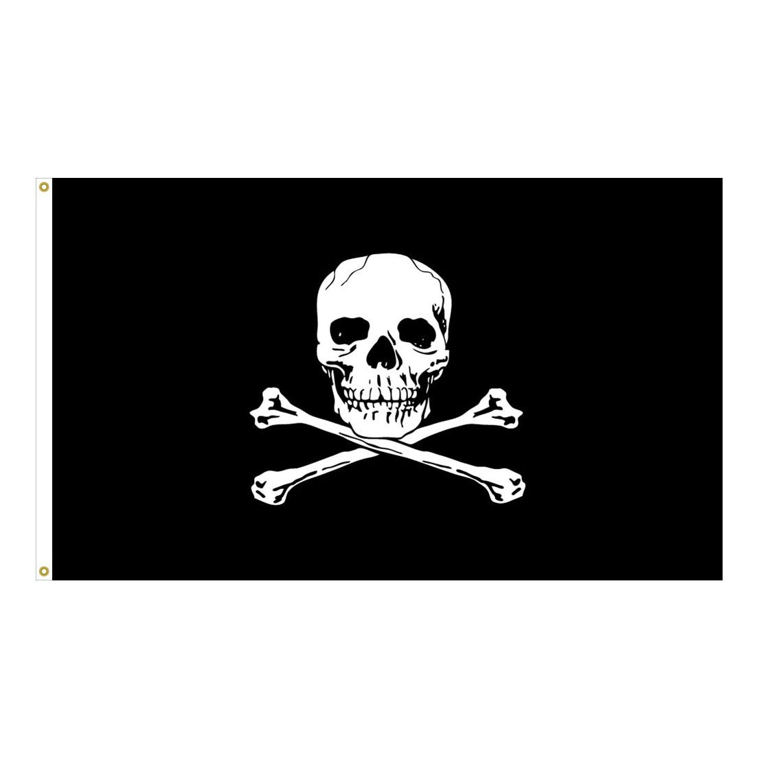 Jolly Roger-Pirate 5' x 8' Outdoor High Quality Flag