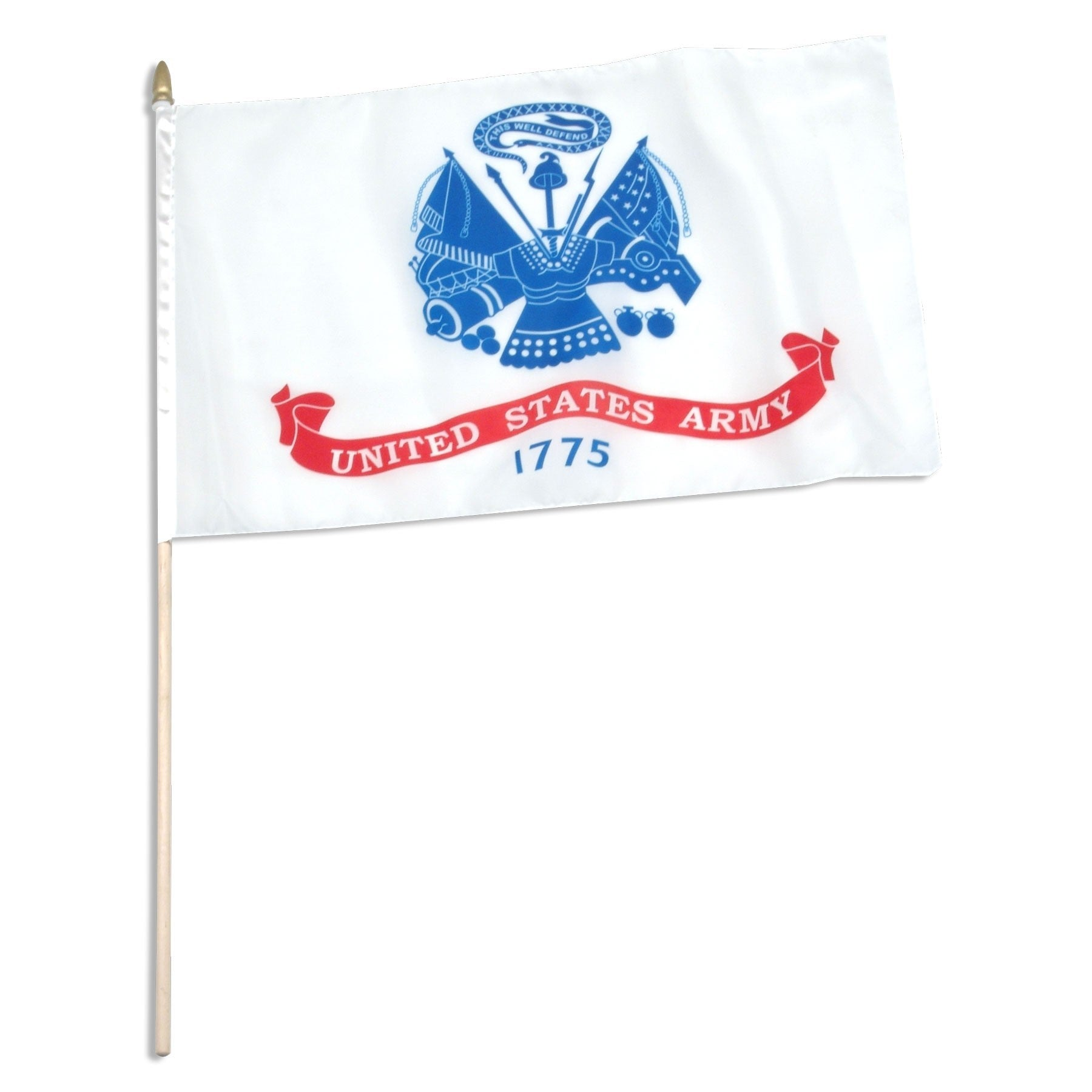 "US Army Mounted 12"" x 18""  Flags"