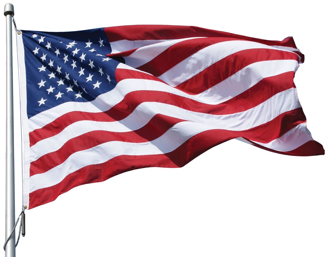 Eder Poly-Max U.S Eder 3' x 5' Premium Outdoor US Flag