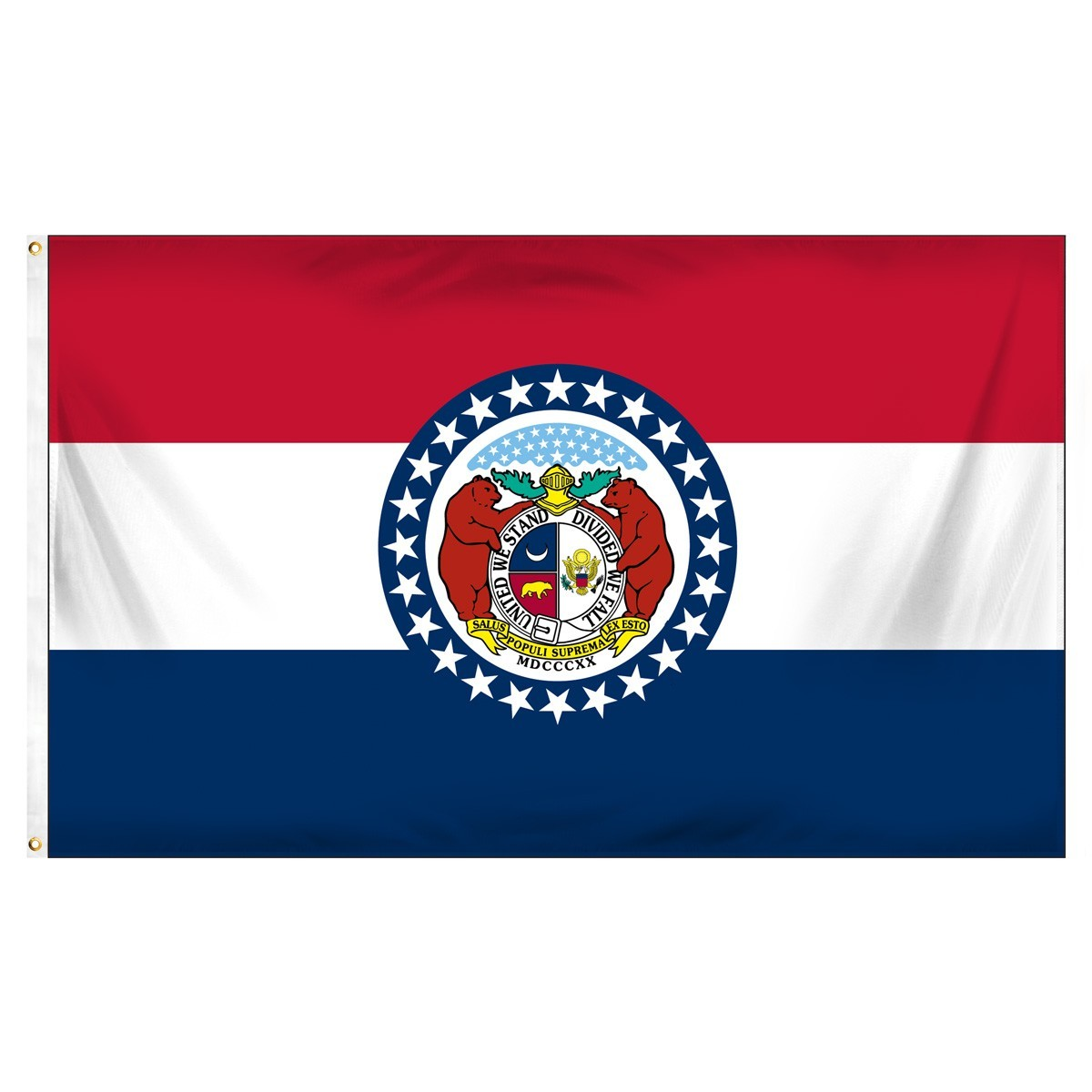 Missouri  2' x 3' Indoor Polyester Flag