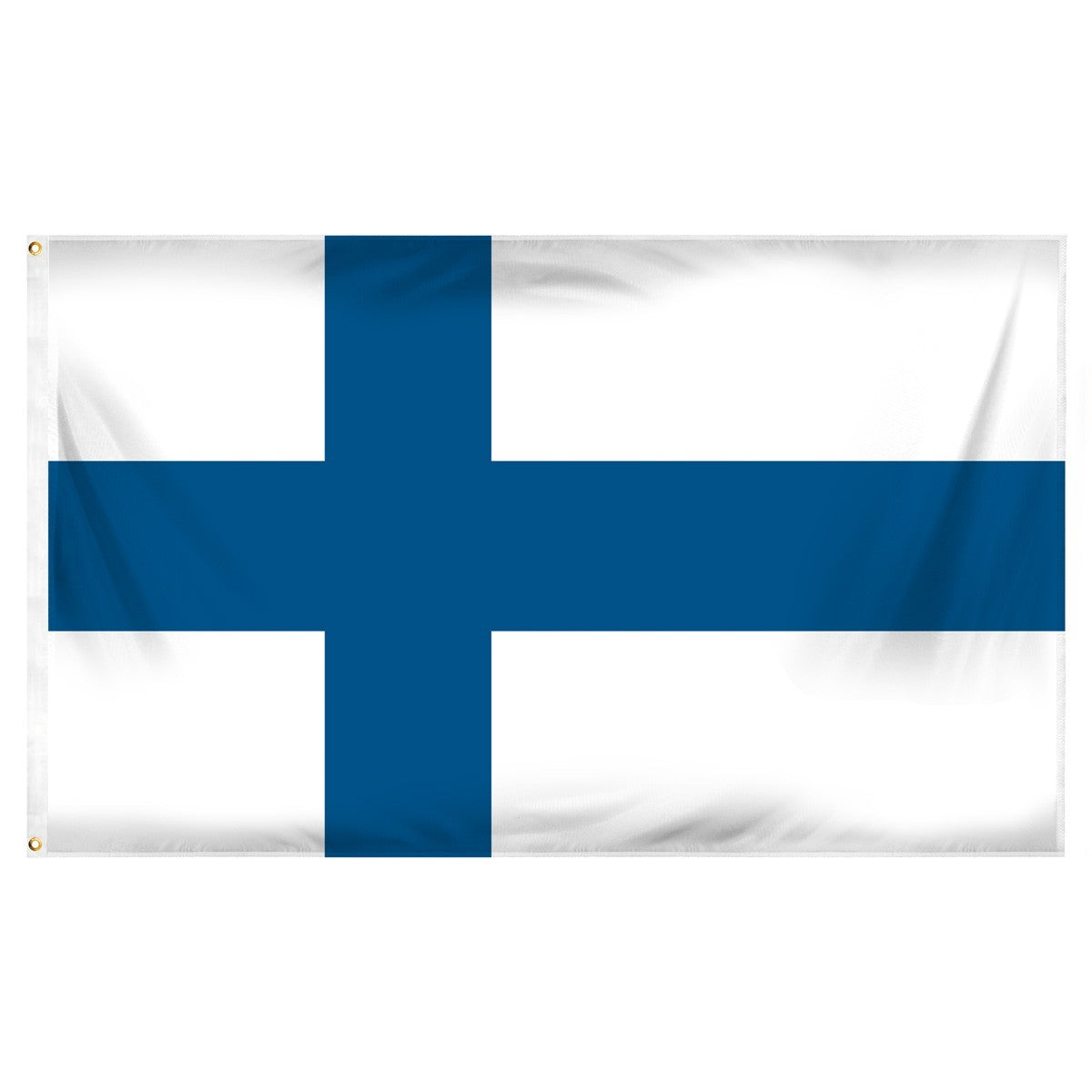 Finland Indoor Polyester Flag